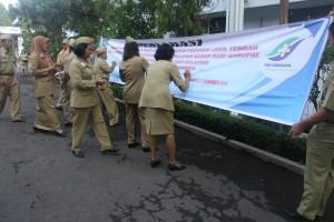Penandatanganan Deklarasi WBK & WBBM oleh Seluruh Pegawai RSJD Surakarta, Senin 21 Desember 2015